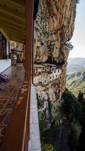 Monastery of St. John the Baptist (12th century)- Gorge Lousios - Arcadia, Greece | plf-travelphotos.com