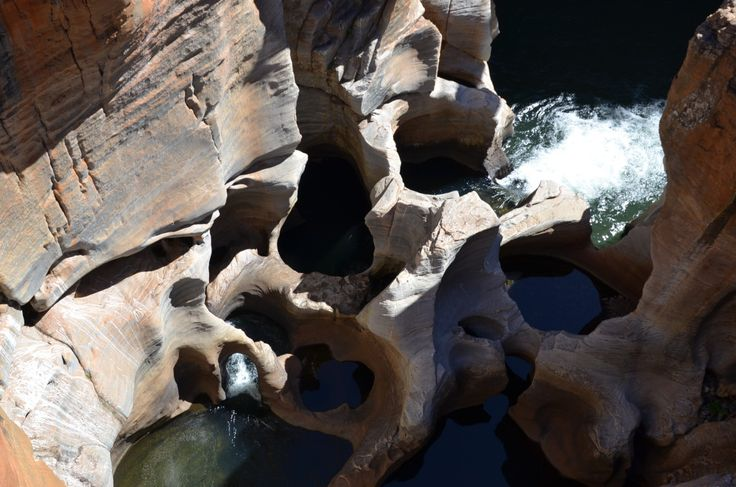 Natural Beauty of Bourke's Luck Potholes, South Africa