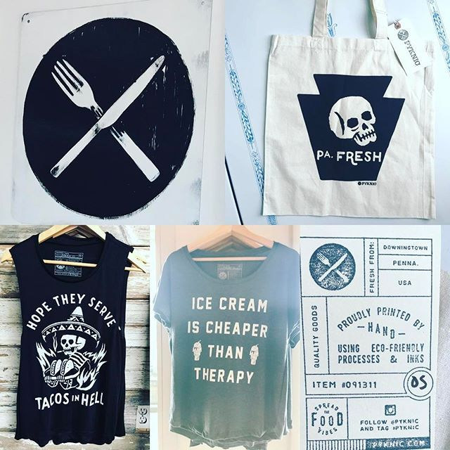 optimistic_kitchen: I love @Pyknic! They are doing their part to elevate today's food culture by giving everyone from the food-obsessed to the casual taco eater fun apparel, gear, and accoutrement that is quality, ecofriendly, and cool! Great brand with great people! Worth checking out when in #downingtownpa or online. I ❤️ ❤️ ❤️ my new PA Fresh tote! . . . . . #pyknic #downingtown #iheartdtown #ilovedowningtown #foodiegram #igfood #foodculture #foodgeek #foodnerd #foodismylife #foodstagram…
