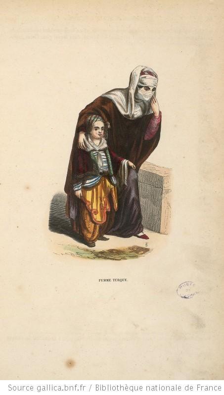 gallica.fr Femme turque. [Cote : Réserve A 200 324]
