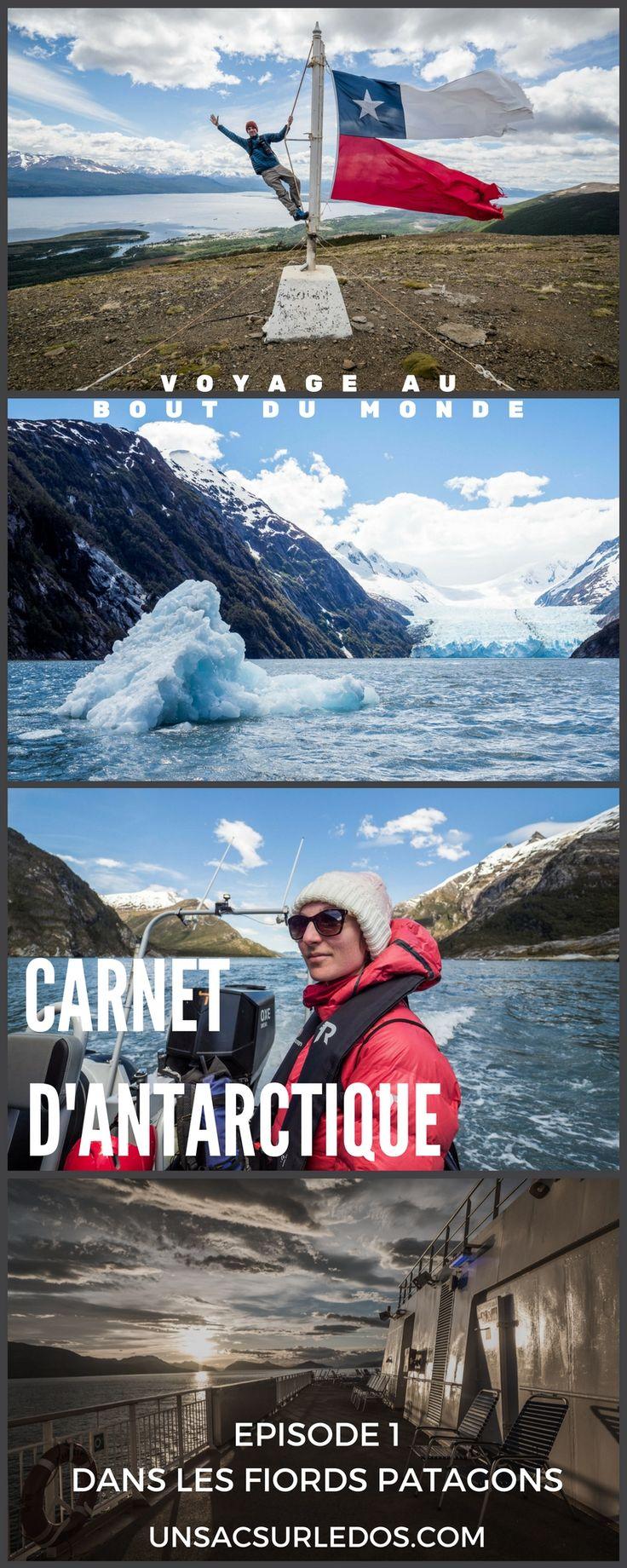 Des paysages à couper le souffle, on s'attendait à en trouver durant ce voyage en Antarctique... mais pas dès les premiers jours !  Croisière du fin fond de la #Patagonie, cap vers le #CapHorn et l' #Antarctique...  #voyage #croisiere #bateau #Chili #journaldebord #carnetdevoyage #PuntaArenas #PuertoWilliams #glacier #aventure #polaire #PoleSud