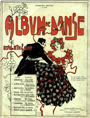 Art Nouveau Sheet Music