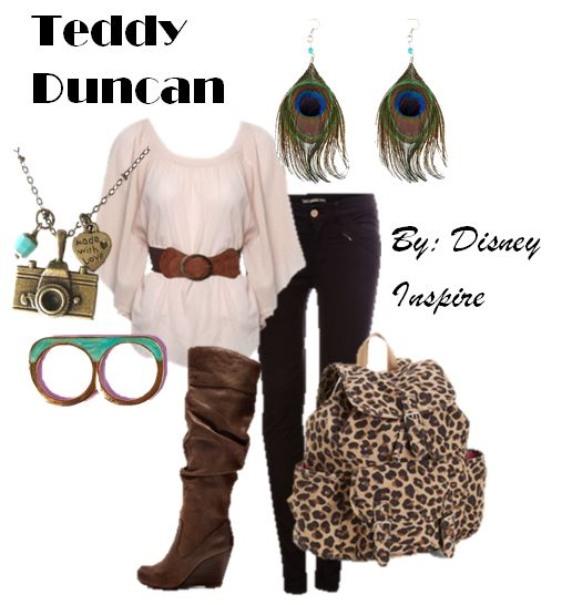 My Disney Inspire: Teddy Duncan (Good Luck Charlie)~ Disney Channel Collection