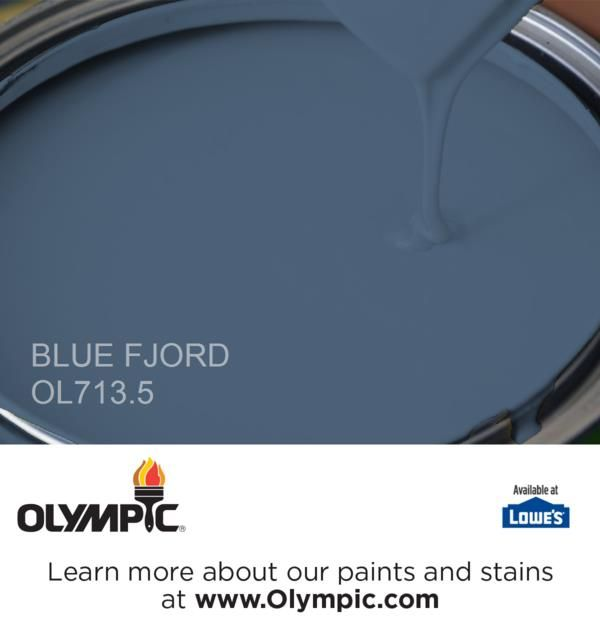 BLUE FJORD OL713.5 is a part of the blues collection by Olympic® Paint.
