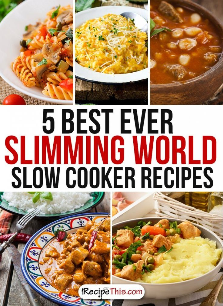 Slimming World | The best Slimming World slow cooker Recipes brought to you by RecipeThis.com