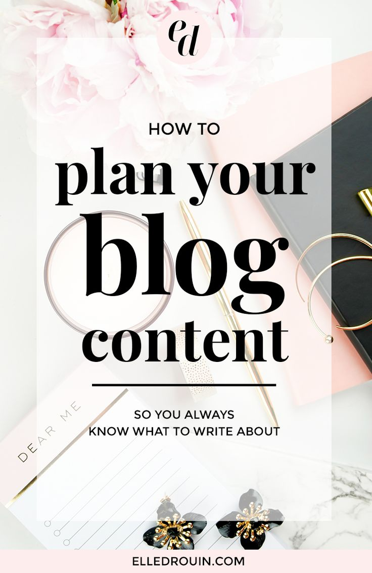 How to plan your blog content - so you always know exactly what to write about. Includes a blog content planner workbook to help you create content that converts! Click through to download. #blogging #blog #blogcontent
