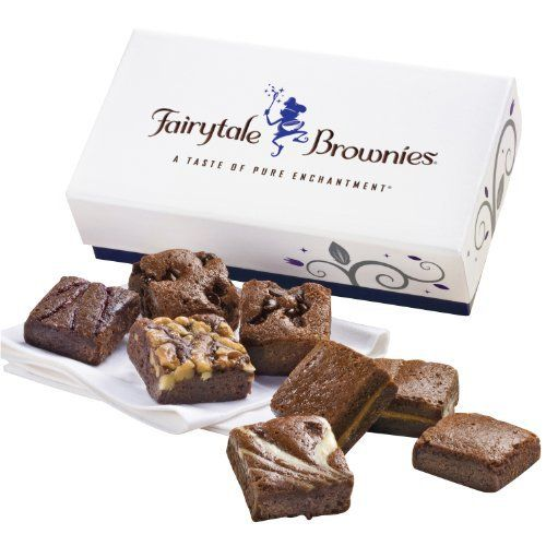 Fairytale Brownies 8-Morsel Favor Gift Box - http://mygourmetgifts.com/fairytale-brownies-8-morsel-favor-gift-box/