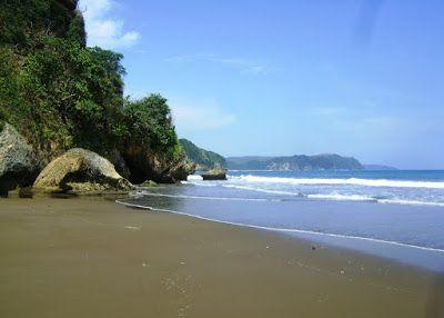 Sine Beach, Tulungagung, Indonesia