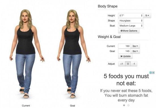 Body Shape Optimiser
