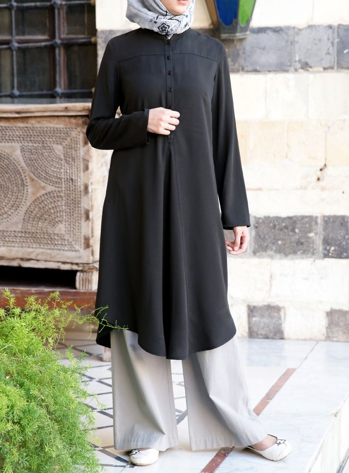 Flared Work Tunic