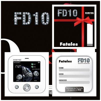 Evertek s'associe avec Fatales, le groupe de Cosmétiques pour proposer des bon d'achats dans leurs magasins. Une action originale de plus à mettre au compte du FD10, ce portable passion, grand succès de l'année 2010.