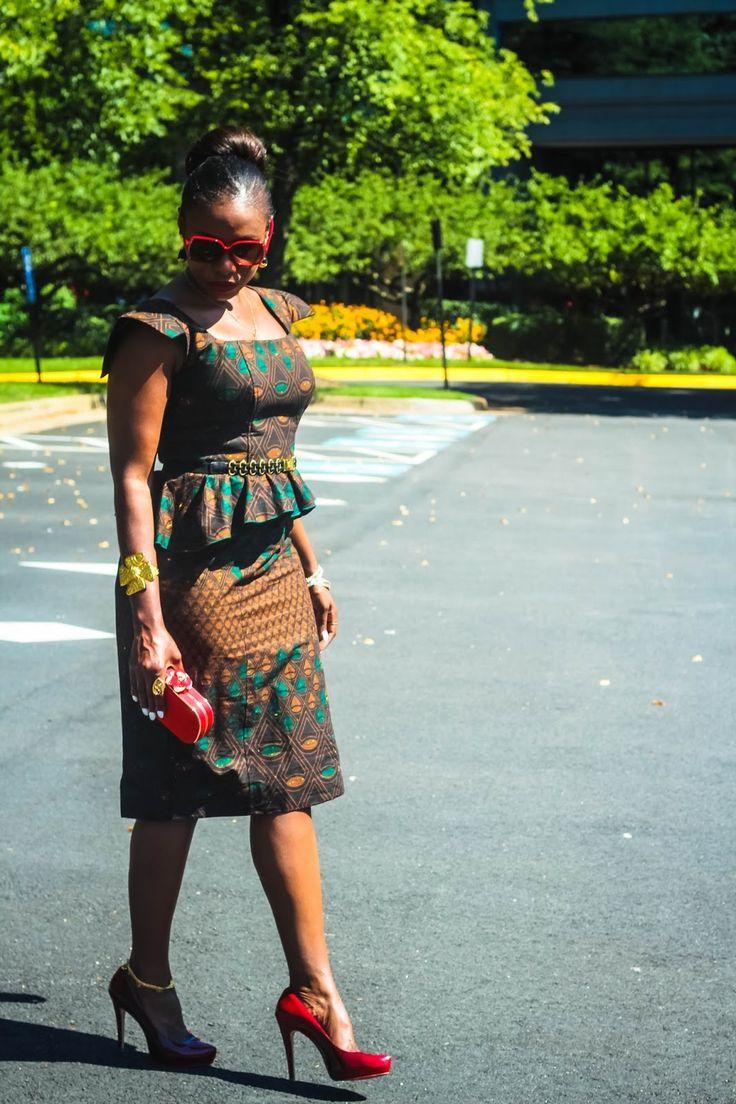 Love Life Pearls: Haute Africana ~African fashion, Ankara, kitenge, African women dresses, African prints, African men's fashion, Nigerian style, Ghanaian fashion ~DKK