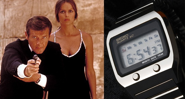 The Spy Who Loved Me (1977) – Seiko 0674 LC - Roger Moore