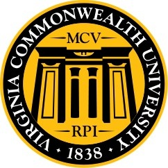 This is the seal for Virginia Commonwealth University. http://www.payscale.com/research/US/School=Virginia_Commonwealth_University_(VCU)/Salary