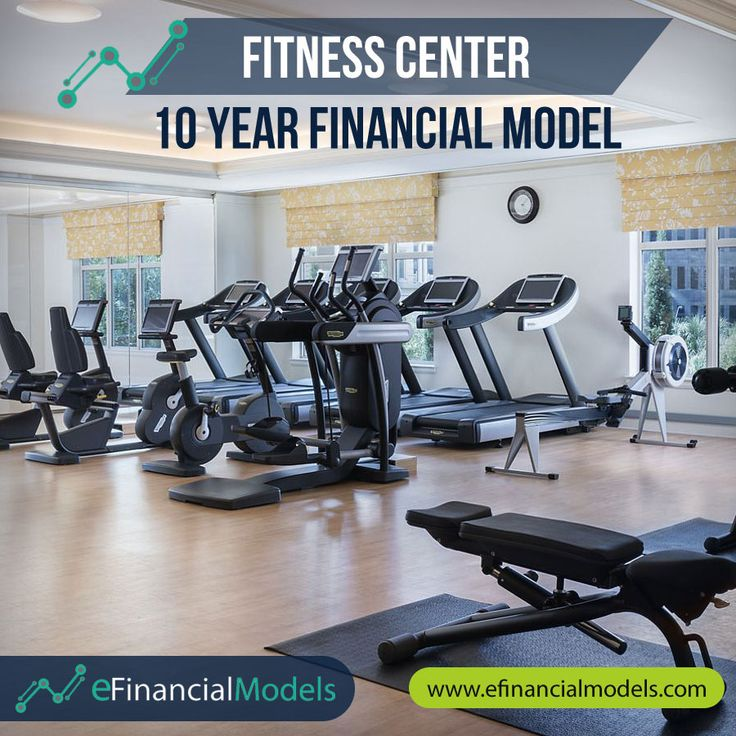 Fitness Center Financial Model Template in 2020 Design
