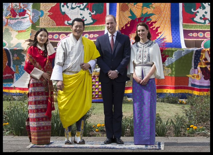 #RoyalVisitBhutan: Archery for William & Kate (and a rude song too...)
