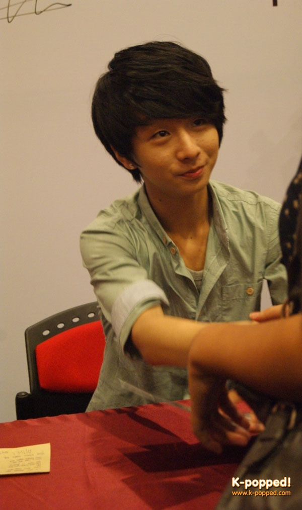 Jung Sungha - a finger-style guitarist at the Performing Arts Centre of Penang, Malaysia on May 27.