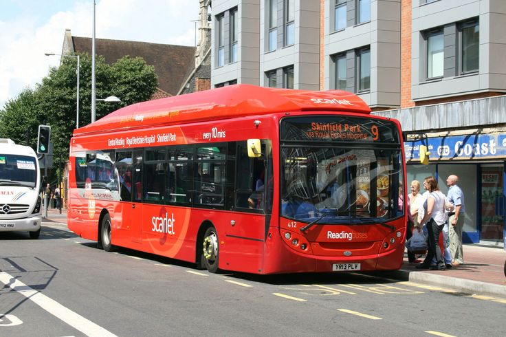 Reading Buses, Gas powered Alexander Dennis Enviro 300 buses