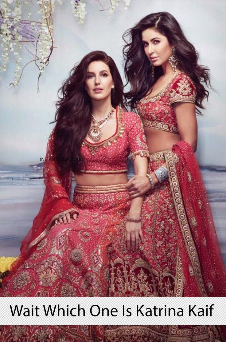 Katrina kaif with her sister Isabelle kaif Bridal Shoot ...