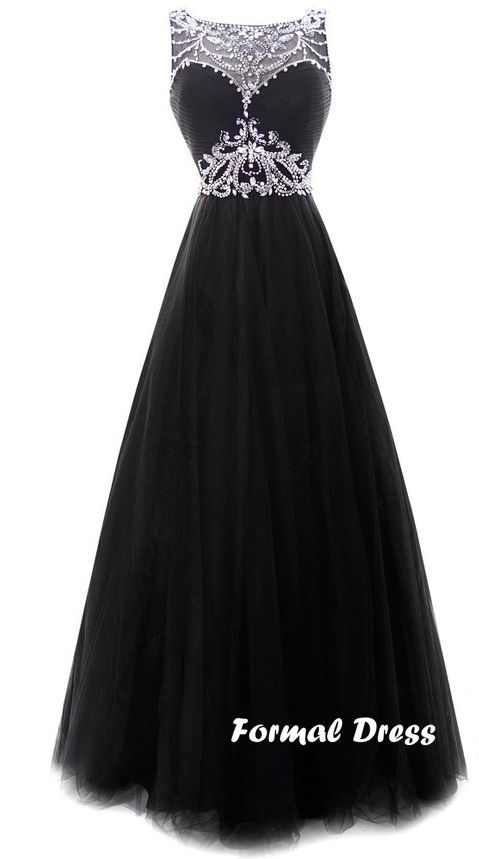 25  best Formal black dresses ideas on Pinterest | Long black ...