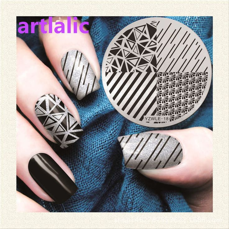 92 best 2017 Nail Art Stuff images on Pinterest | Nail arts, Nail ...