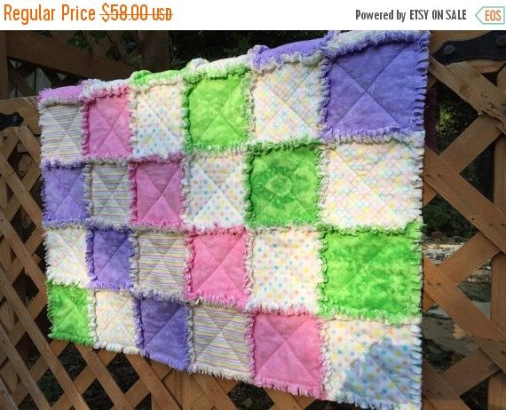 Baby Quilts for Sale Homemade Quilts by HandledWithCareMary