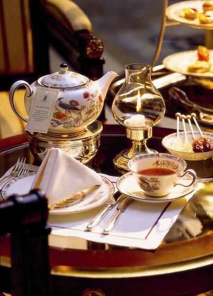 High tea at the manor...