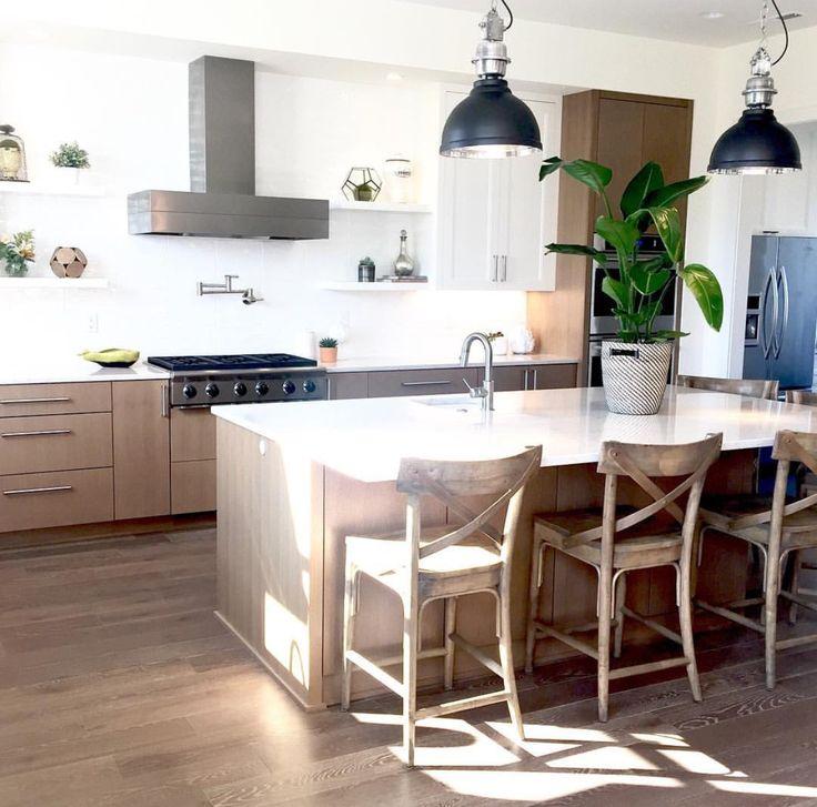 Two Tone Kitchen Cabinets White And Oak: Best 25+ Quarter Sawn White Oak Ideas On Pinterest