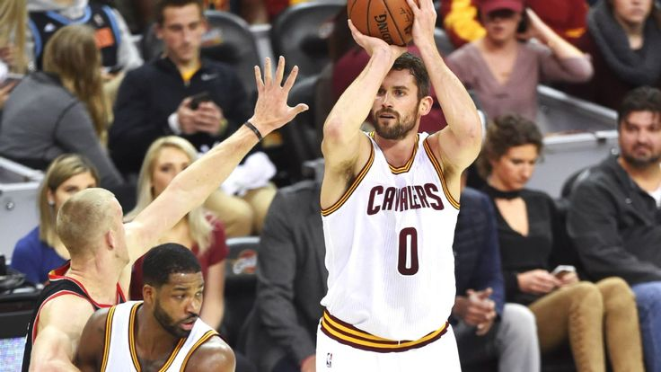 Kevin Love scores 34 of his 40 points in first quarter of Cavs' win