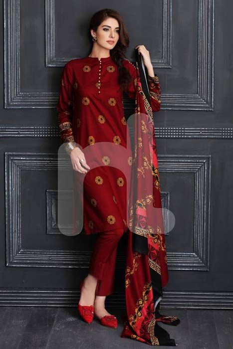 Nishat Linen Fall Winter Pret Dresses Collection 2016, Pakistan.