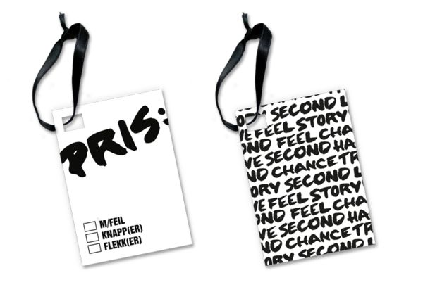 i love this price tag somehow ;A; || VISUAL IDENTITY UFF by Madeleine Skjelland Eriksen, via Behance