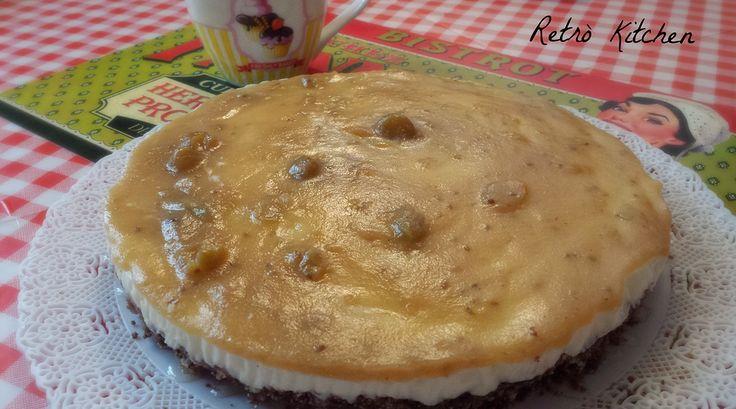 Retrò Kitchen la cucina senza glutine | Cheesecake alla marmellata di uva spina