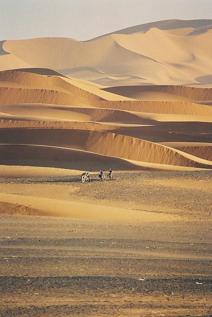 Sahara - mountains of sand