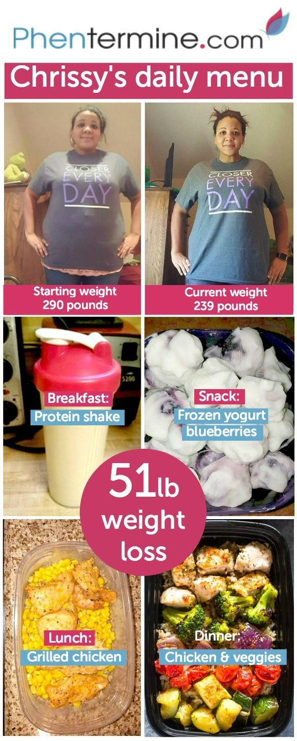 Chrissy Lost 51 Pounds With Phentermine By Following A High Protein Diet That Also Includes Delicious