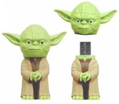Click for Full Size Image of Star Wars, USB Flash Drive, Yoda