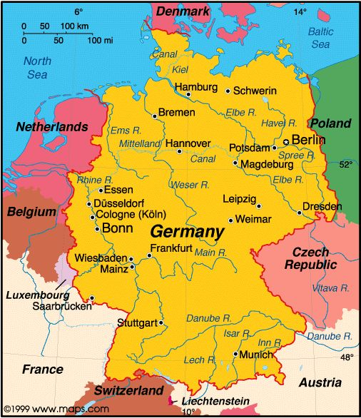 Ich will Deutschland besuchen!