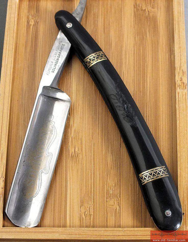 Good Solingen Rasiermesser straight razor coupe choux