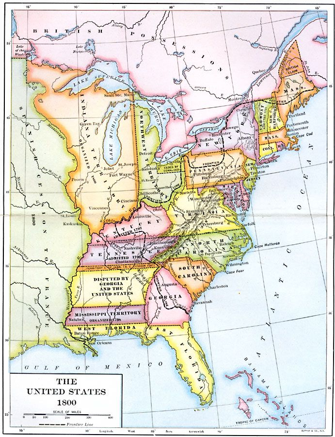 Best America A New Beginning Images On Pinterest American - Map of us territories 1800