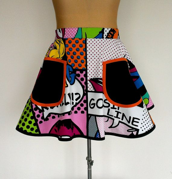 Check out this item in my Etsy shop https://www.etsy.com/au/listing/285608163/popart-apron-chic-apron-funky-apron