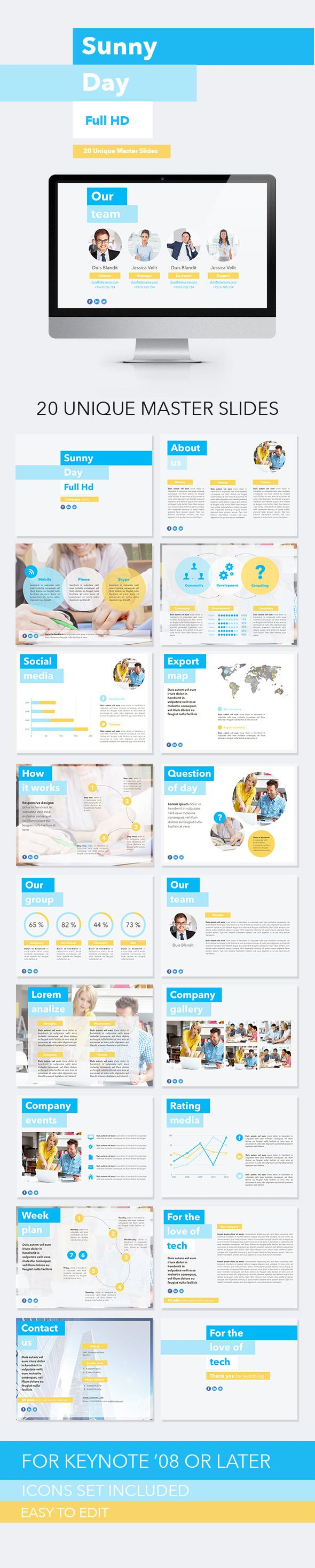 Sunny Day Keynote Template