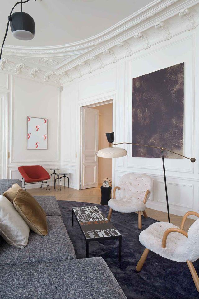 Apartment Trocadero by Rodolphe Parente // Paris.