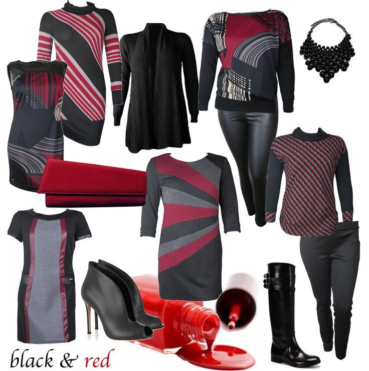 #BLACK & #RED