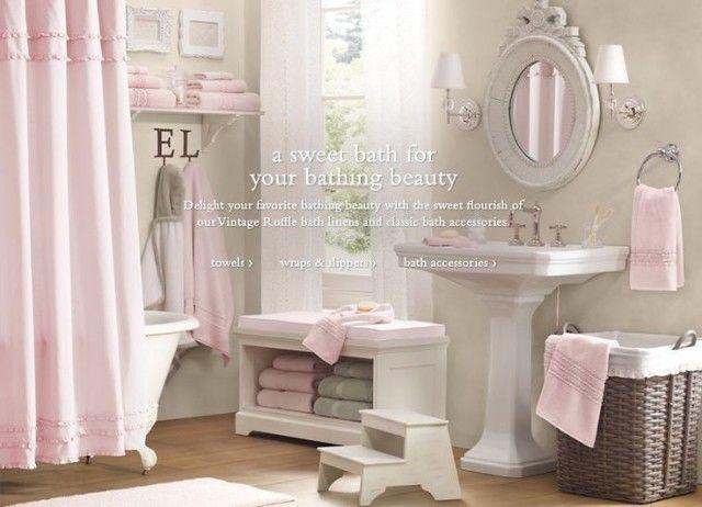 Des salles de bains pour vous, les filles ! #parquet #peinture