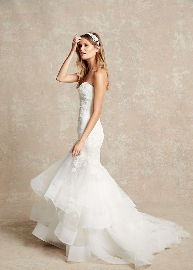 BLISS by Monique Lhuillier Spring 2015 Wedding Dresses #MoniqueLhuillier #2015WeddingDresses