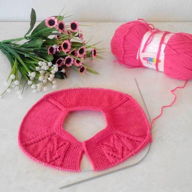 Hayırlı cumalar :)))#yeni  #yelek  #model  #orgu  #elorgusu  #sevgiyleörüyorum  #nakolüksminnoş  #siparisalinir  #knitting  #handmade  #yarn