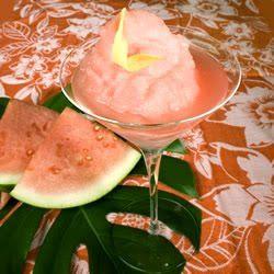 Watermellon Vodka Slush