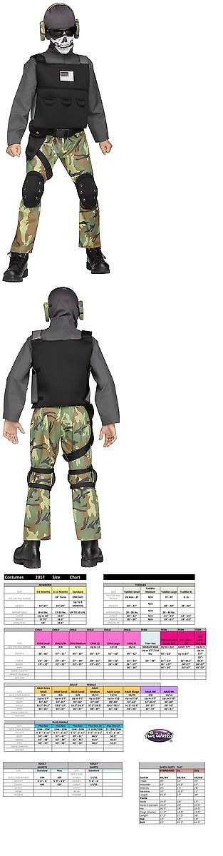 Halloween Costumes: Skull Solider Military Swat Team Army Camouflage Halloween Child Boys Costume -> BUY IT NOW ONLY: $33.99 on eBay!