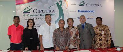 GOLFchannel: Panasonic Jadi Sponsor Baru Ciputra Golfpreneur To...