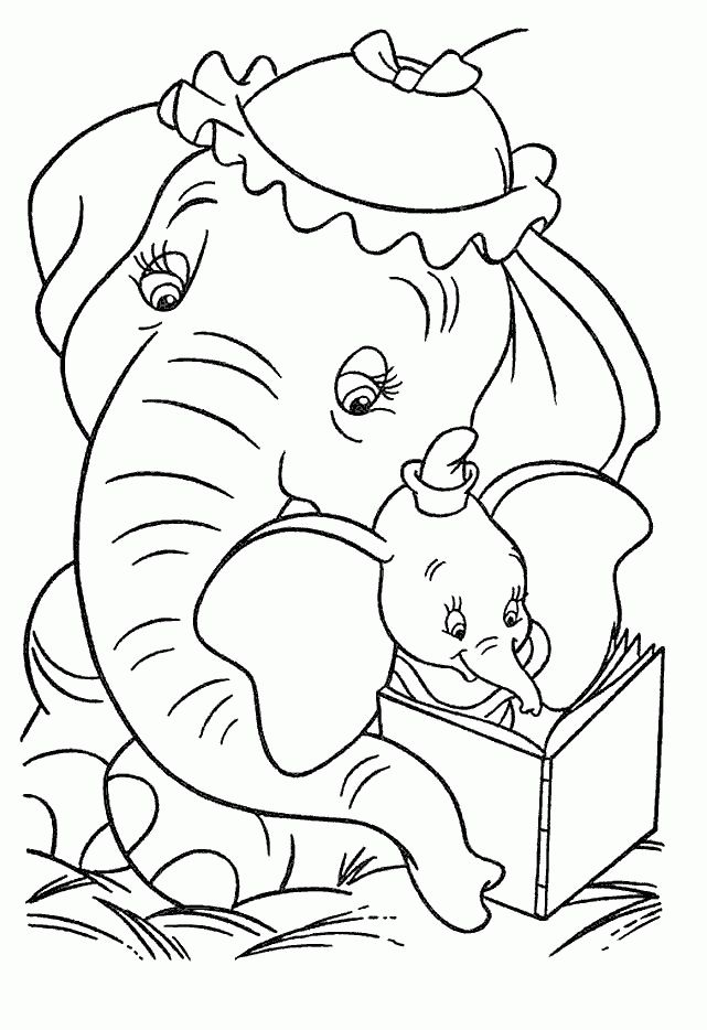 disney dumbo coloring pages Bing Images Coloring_Boys