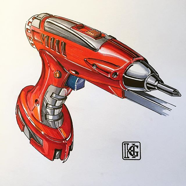 In this one, marker is applied along with some colored pencils #ID #idsketching…
